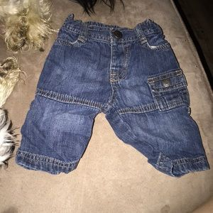 13 for $10 Jeans with working pockets 0-3 month